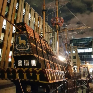 Rum Tasting aboard the Golden Hinde Ship