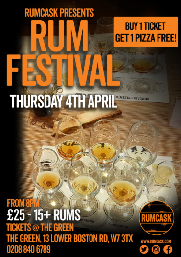 Rum Tasting At The Green W7