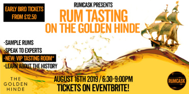 National Rum Day Tasting On The Golden Hinde
